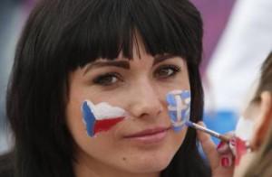 česká fanúšička