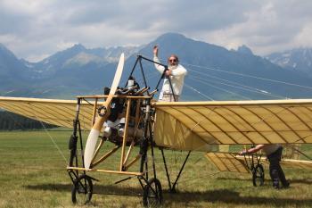 Štefánikovo výcvikové lietadlo Blériot