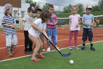 Deti v Hoss Sport Centre
