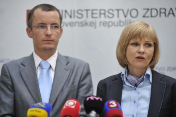 Martin Tabaček a Zuzana Zvolenská