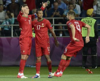 Ronaldo s dvomi gólmi
