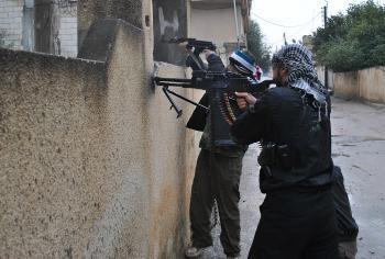 Sýria - povstalci