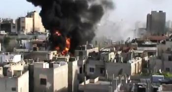 Sýria boje