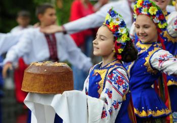 Svidník - slávnosti Rusínov