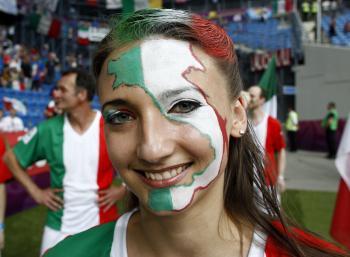 Talianska fanúšička