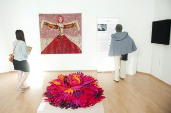 Výstava Trienále textilu bez hraníc