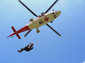 Vrtuľník záchranárov - ilustračné foto
