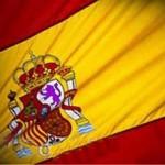 španielska vlajka s emblémom