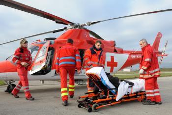 leteckí záchranári - ilustrácia