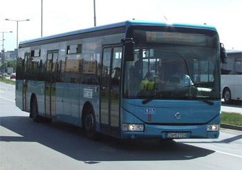 martin - autobus - ilustračné foto