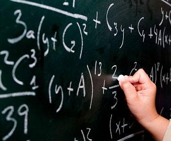 matematika tabuľa