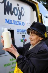 mlieko - ilustračný obrázok