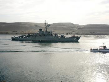 Ruská vojenská loď