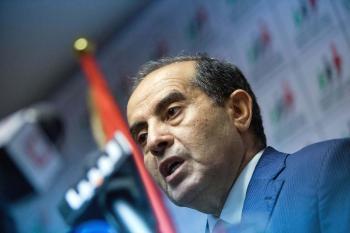 Dočasný líbyjský premiér Mahmúd Džibríl