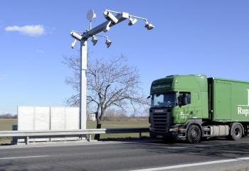 Elektronická mýtnica pre autá nad 3,5 tony