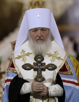 Hlava ruskej pravoslávnej cirkvi, patriarcha Kirill I.