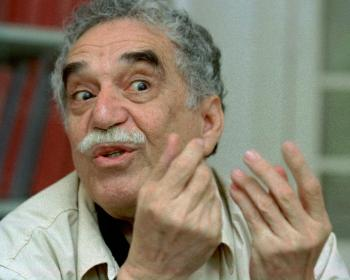 Kolumbijský spisovateľ Gabriel G. Márquez