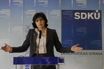 Lucia Žitňanská, bývalá ministerka spravodlivosti SR