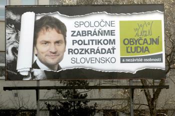 Matovič to so svojím bojom proti rozkrádaniu Slovenska politikmi myslí vážne