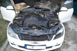 Najviac utrpela časť motora