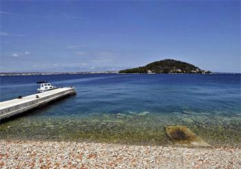 Ostrov v Jadranskom mori