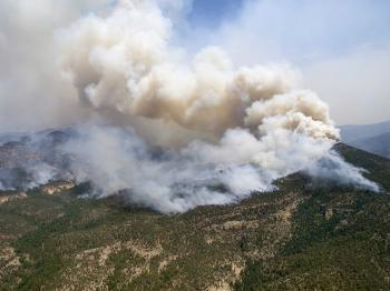 Požiare sužujú Apeninský poloostrov