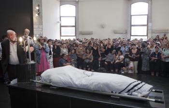 Pohreb v izraelskom Petah Tikva