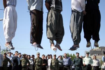 Moslimský právny poriadok schvaľuje popravy v širokej palete prípadov
