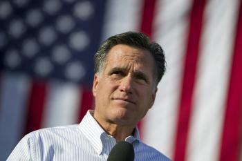 Republikánsky prezidentský kandidát Mitt Romney