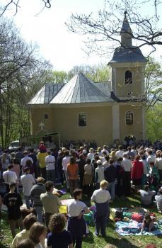 Rotunda sv. Juraja počas svätojurskej púte