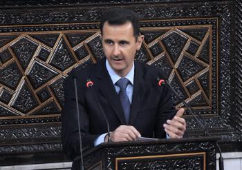 Sýrsky prezident Bašar Asad
