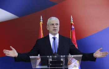 Srbský exprezident Boris Tadič