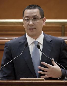 Victor Ponta, rumunský premiér
