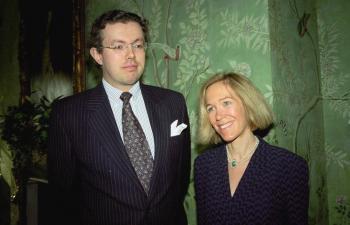 Zosnulá miliardárka Eva Rausingová s manželom Hansom Kristianom