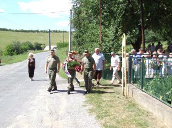 Šarže z Generálneho štábu OS SR si prišli uctiť pamiatku účastníka SNP, brigádneho generála Imricha Gibalu