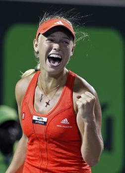 Dánska tenistka Caroline Wozniacka inšpiruje aj handicapovaného športovca k prekonávaniu seba