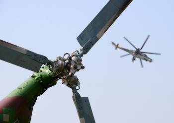 Egypt používa americké, ale aj ruské útočné helikoptéry ešte zo sovietskych čias, ale modernizované
