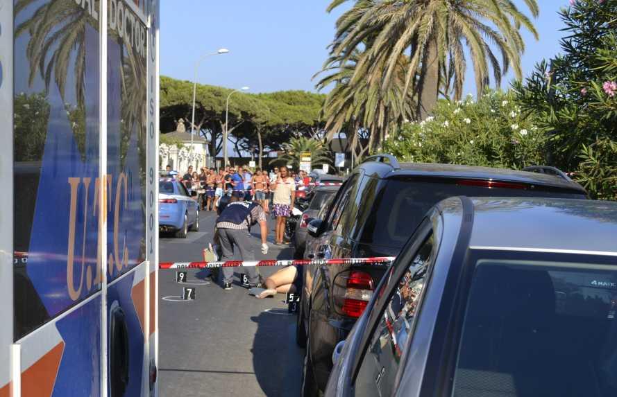 Mŕtveho Gaetana Martina zasiahlo niekoľko guliek pred jeho automobilom