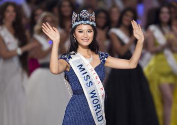 Miss World 2012, Číňanka Jü Wen-sia