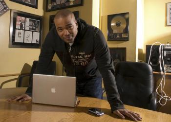 Na archívnej snímke z 28. februára 2007 je hip-hopový magnát Chris Lighty