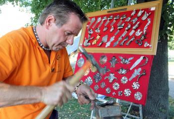 Peter Štafen sa presadil svojím kováčskym umením vo Francúzsku