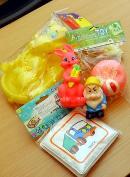 Nebezpečné hračky z PVC obsahujú najmä uvoľnujúce sa ftaláty - ilustračné foto
