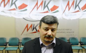 Predseda strany SMK József Berényi