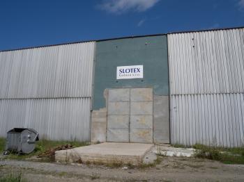 Priestory spoločnosti Slotex Fashion vo Vranove nad Topľou