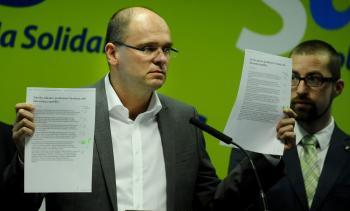 Richard Sulík vyzýva ľudí, aby sa obrátili na ústavný súd