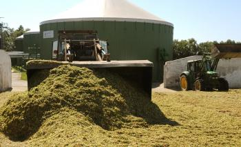 Silážovanie kukurice v Choňkovciach