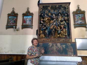 Skvost gotického umenia na Slovensku - oltár Majstra Pavla z Levoče v rímsko-katolíckom kostole v Očovej