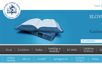 Slovenská lekárska knižnica poskytuje svoje služby online