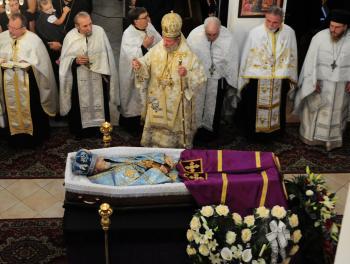 Najvyšší predstaviteľ pravoslávnej cirkvi na Slovensku Jeho Vysokopreosvietenosť Ján – arcibiskup prešovský a Slovenska zomrel 2. augusta 2012 vo veku 75 rokov