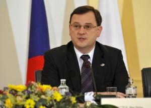 Český premiér Petr Nečas